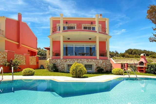 Agios Stefanos Avlioton Villa Sleeps 6 Pool T334442