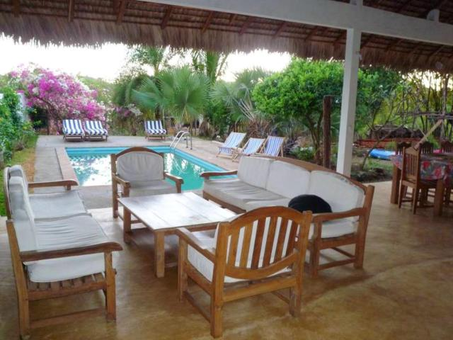 Bungalow with 2 bedrooms in Andilana with wonderful sea view shared pool and enclosed garden