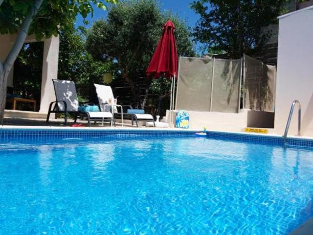 Villa with 3 bedrooms in Kritou Tera with wonderful sea view private pool enclosed garden