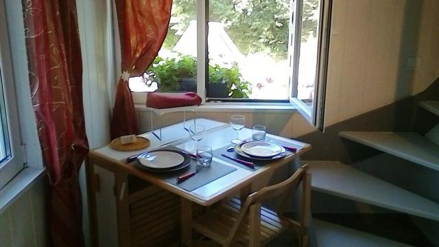 Appartement d'une chambre a Les Authieux Papion avec jardin amenage et WiFi a 20 km de la plage