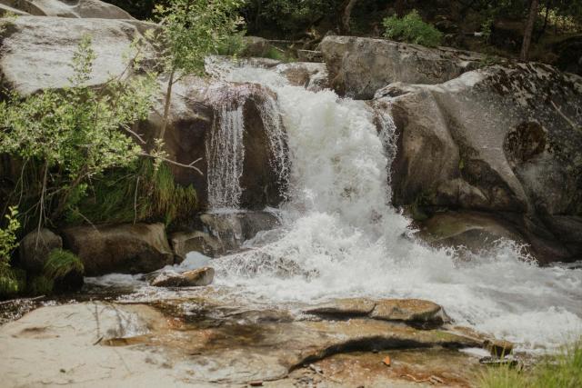 Riverfront Property with Waterfalls near Yosemite and Bass Lake
