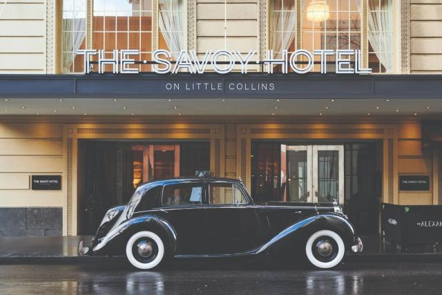 The Savoy Hotel on Little Collins Melbourne