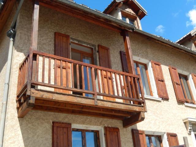 Appartement de 2 chambres a La Grave avec magnifique vue sur la montagne balcon et WiFi