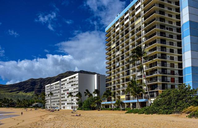 1 Bed, 1 Bath Direct Oceanfront Condo on the 3rd Floor Hawaiian Princess - 305