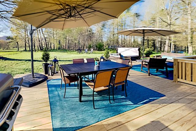 Wooded Oasis with Firepit, Lawn & Amazing Locale home