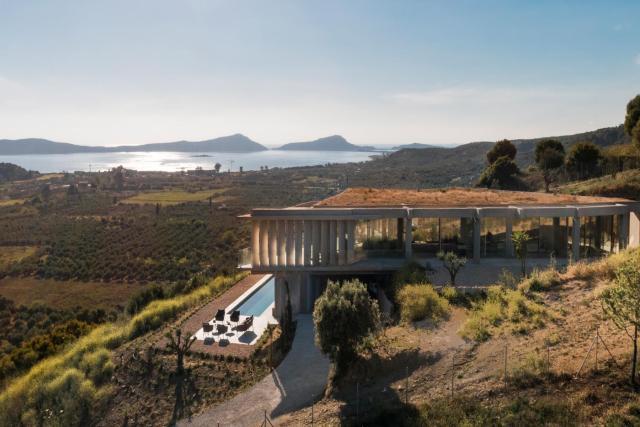 Unique designer Villa near Pylos
