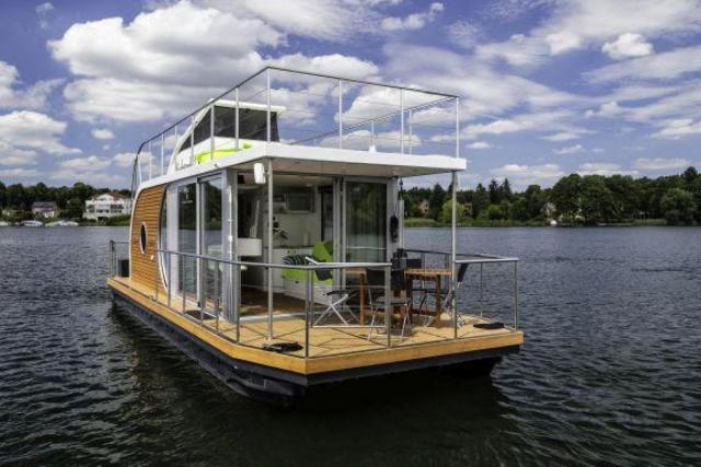 Houseboat auf der Dahme Wildau - DBS05100e-N