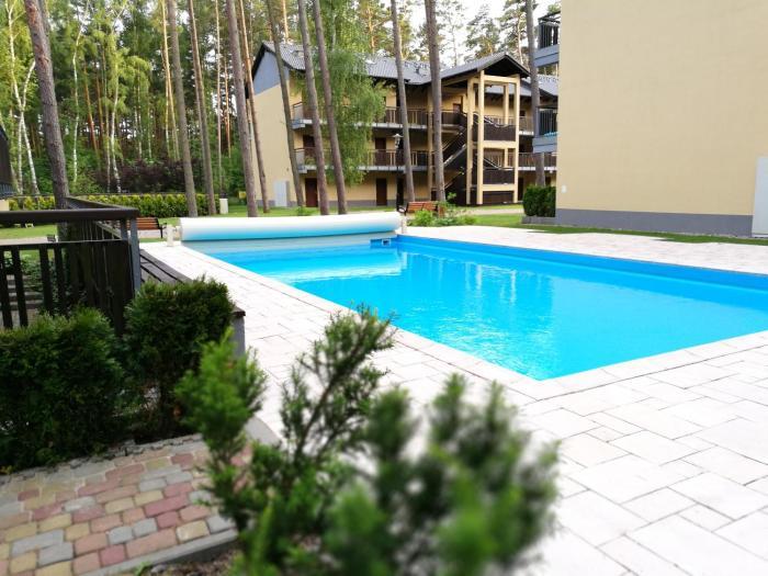 SeaForest Pogorzelica Apartament Srebrny