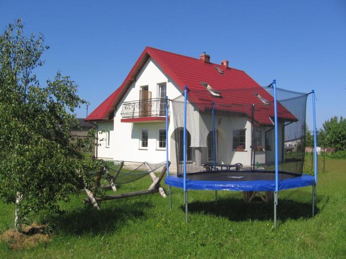 Domki pokoje pod Wierzba