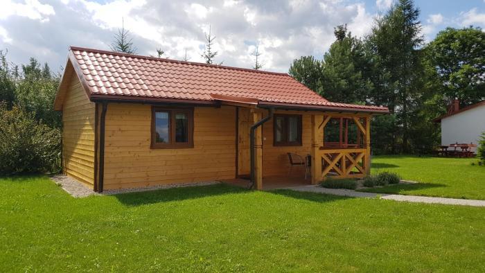 domek drewniany Gościniec Mazurek