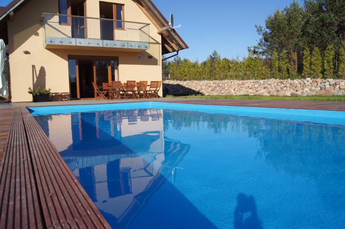 WIGWAM Dom z basenem na Kaszubach