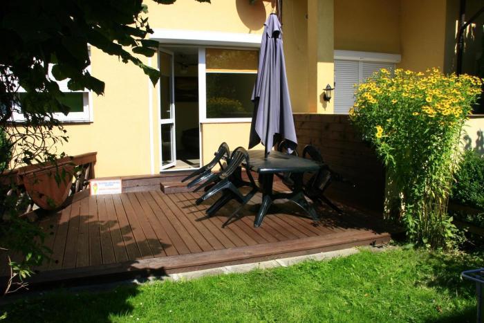 Apartament z tarasem i ogrodem