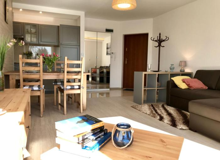 Apartament dwupokojowy Blue Sea