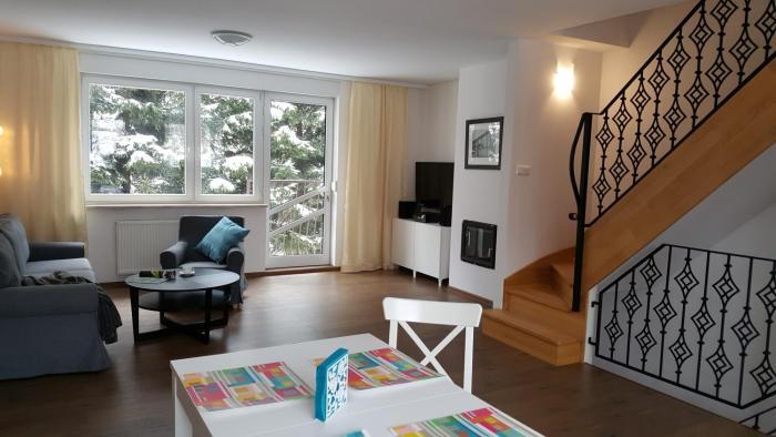 Apartament rodzinny z ogrodem Bliżej Zdroju