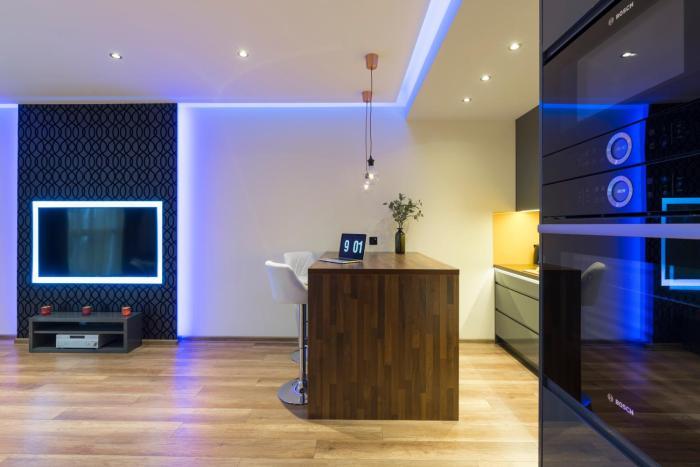 Center of Łódź 5- star apartment with secured car park