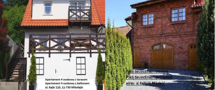 Apartamenty Mikołajki