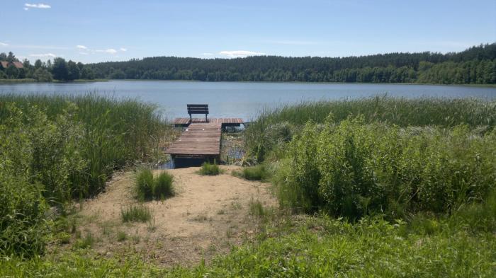 Dom z Widokiem na Jezioro I Las