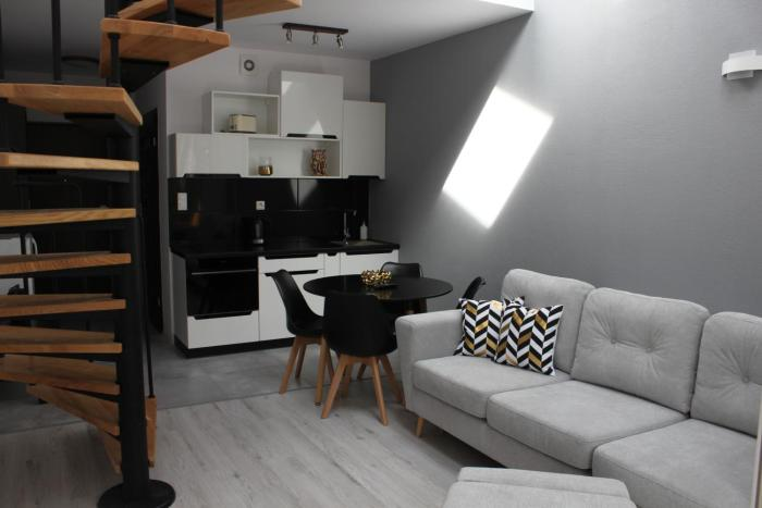 Apartament dwupoziomowy Pogorzelica