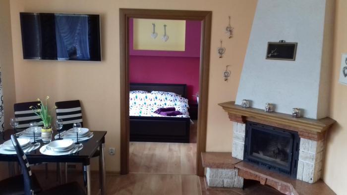 Apartament rodzinny z kominkiem Kościelisko/ Zakopane