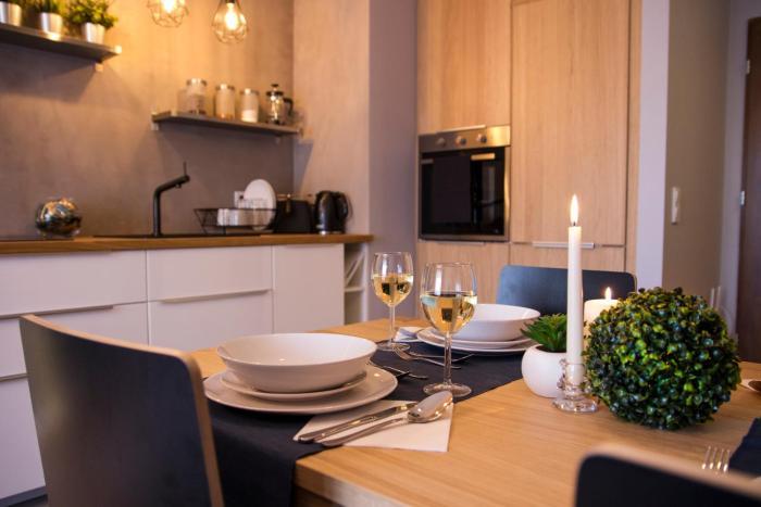 Dwupokojowy Apartament Z Sypialnią I Tarasem Wrocław