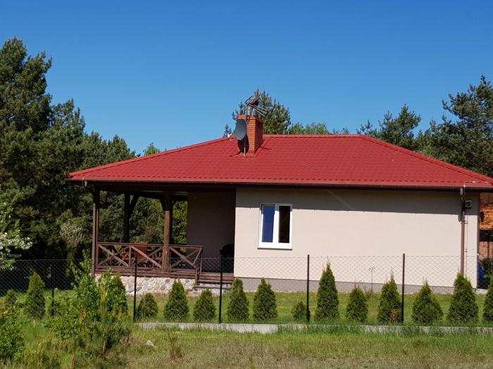 Domek blisko jeziora 6 os