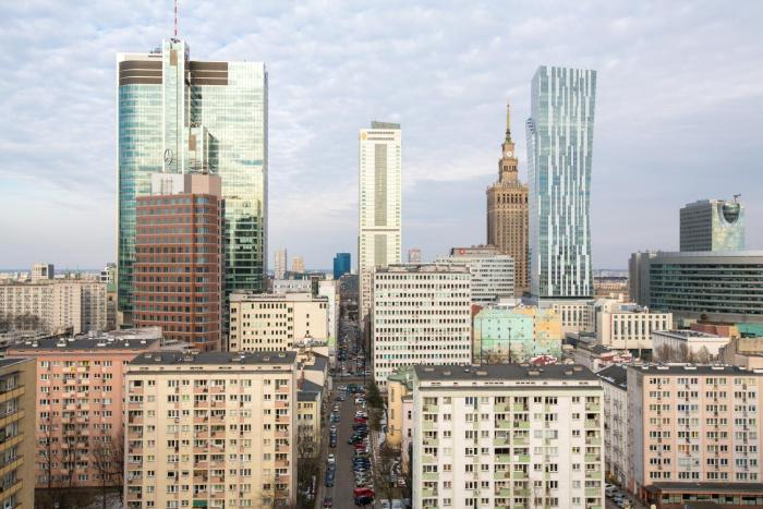 Luxury Sky Penthouse City Center View