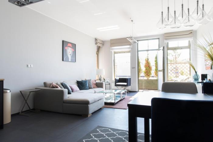 Apartament na Bulwarze parter z prywatnym wejściem
