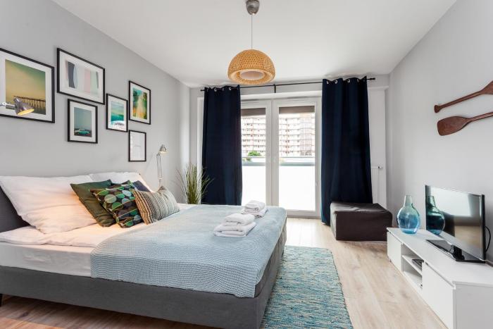 Frey Homes, Apartament Aquamarine Gdańsk Przymorze