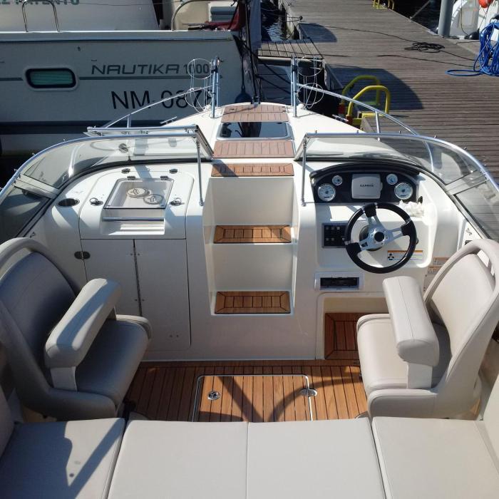 Łodź motorowa Quicksilver 645 ACTIV CABIN - 150 KM
