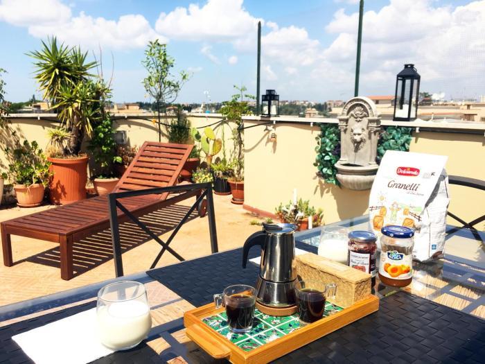 Appartamento con magnifico terrazzo vicino a Metropolitana e Vaticano