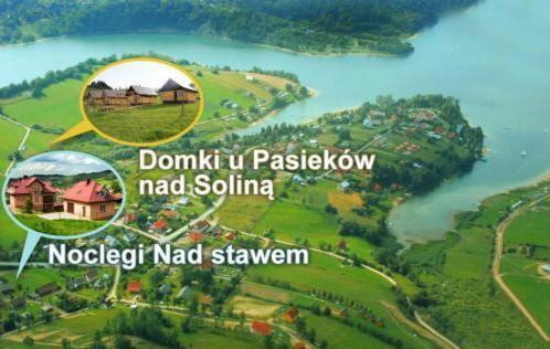 Domki u Pasieków nad Jeziorem Solińskim