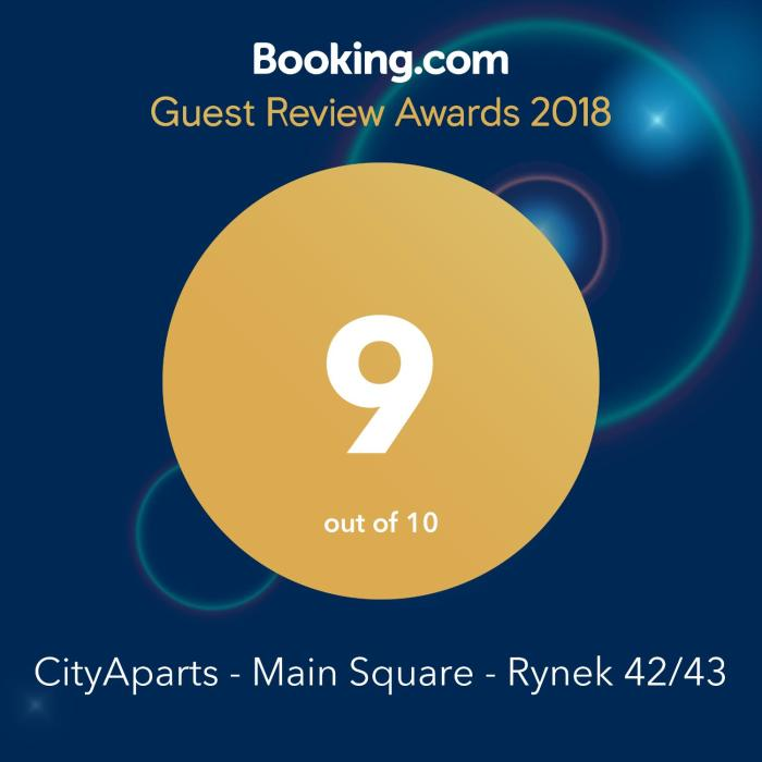 CityAparts-Private Apt. Main Sqr. Rynek (Self check-in)