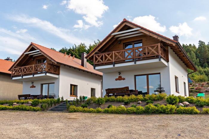Malinowe Wzgórze domki z saunami