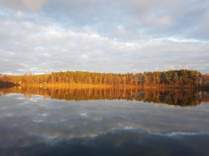 Agro Breza domek nad samym jeziorem