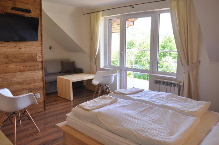 Maniówka pokoje i domki w Bieszczadach