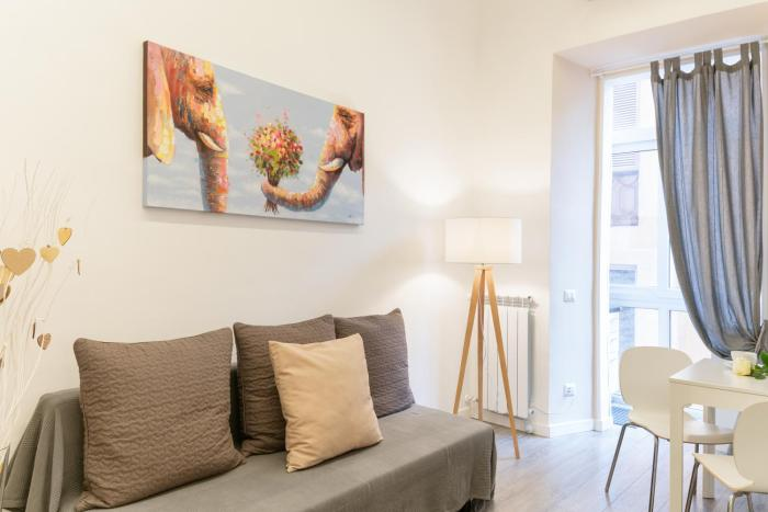 Charming flat in Esquilino