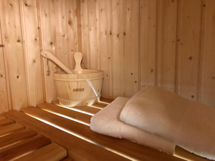 Sauna Apartment No5 Leśny nad Zalewem z Tarasem