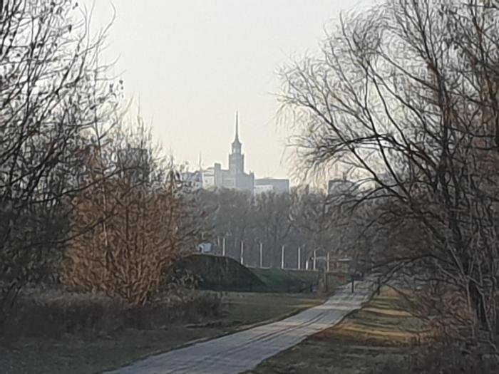 Riverside next to City Center