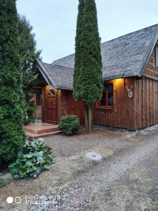 Dom z Sauną Ługiele