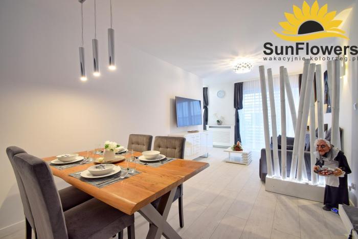 Sunflowers Apartament LEO GREY w Kołobrzegu