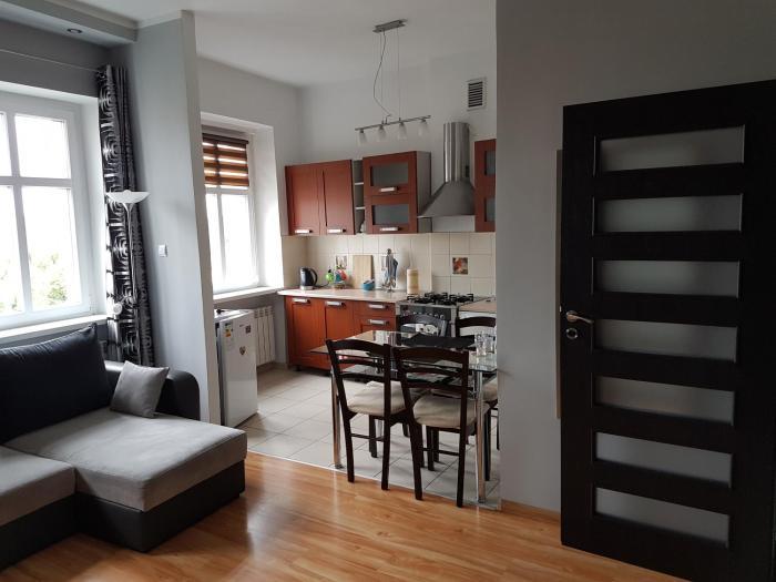 Apartament w Sercu Miasta