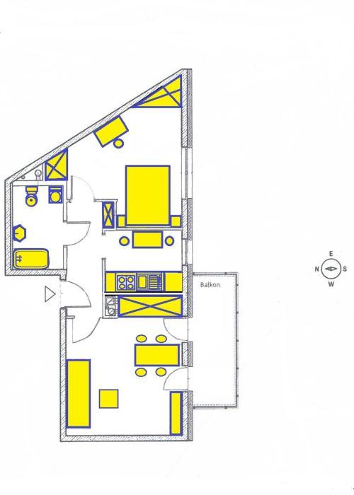 Krak Apartment in Cracow
