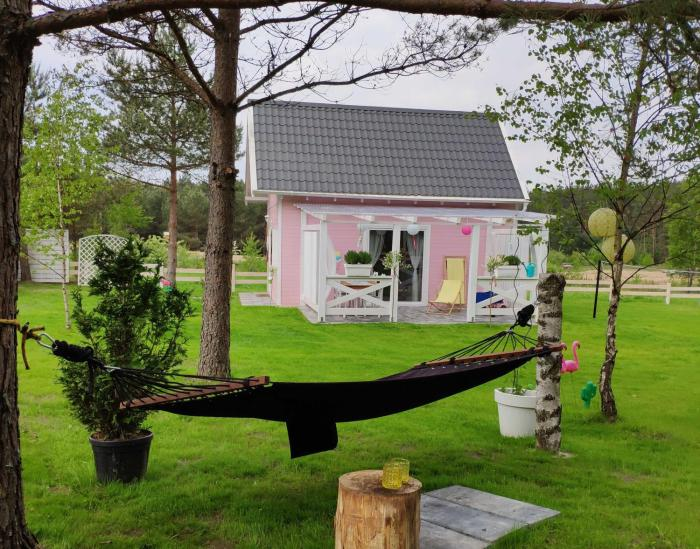 Bajkowy domek Villa Rosa na Kaszubach
