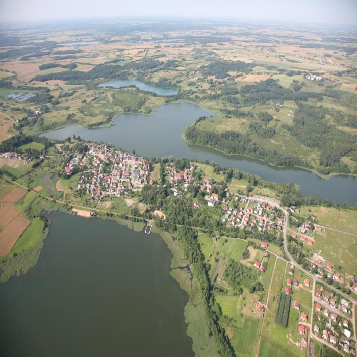 Pokoje nad jeziorem Mazury