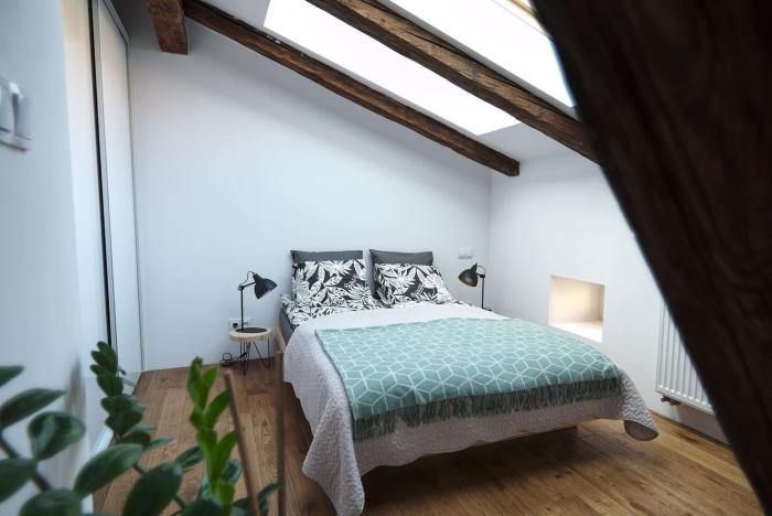 Sunny Attic in the City Centre