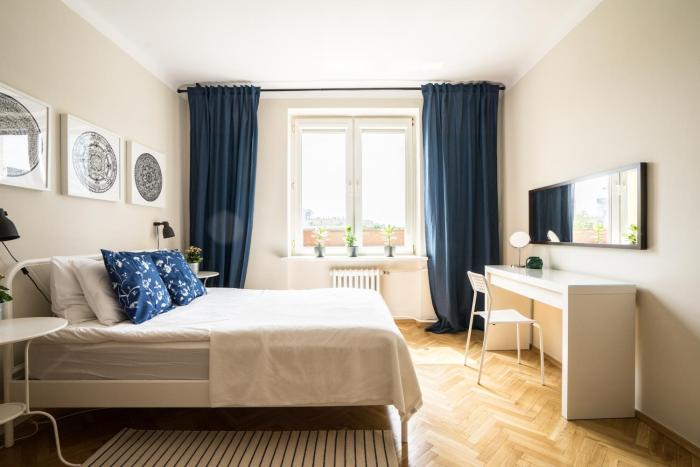 ★Bright, spacious apartment|Palace of Culture view★