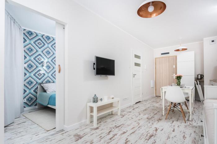 Zabłocie Concept Grey Apartment