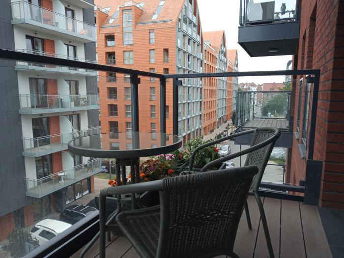 Przytulny apartament blisko Motławy i Neptuna