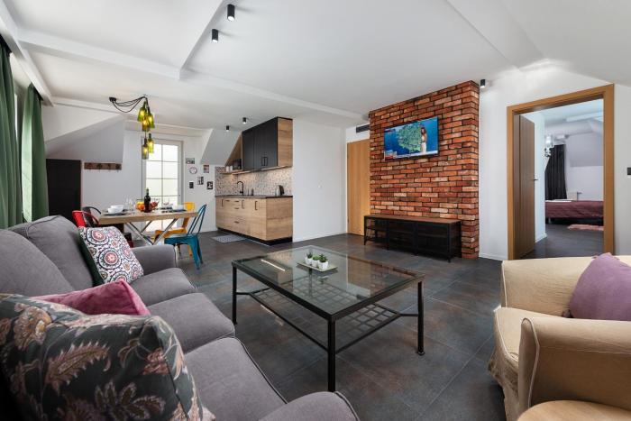 Morskie Apartamenty Zefir Notos Loft Gniazdo