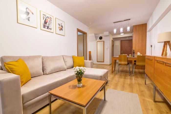 Krynica Apartamenty Rodzinny Apartament w Centrum z ogródkiem